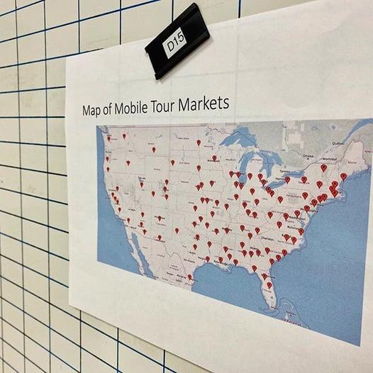 Mobile Tour Markets